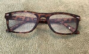 Betsey Johnson Retro Readers Glasses Thick Frames Leopard +1.50 NIB