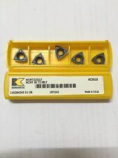 WCMT 3252LF (WCMT06T308LF) KC5010 KENNAMETAL CARBIDE INSERTS-Pack of 10