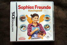 Sophies Freunde Kochspass - Nintendo DS - Deutsch - Komplett OVP mit Handbuch