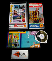 GRAND THEFT AUTO VICE CITY STORIES SONY PSP Portable JAP Best
