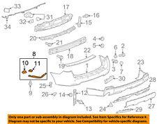 GMC GM OEM 10-17 Terrain Rear Bumper-Side Bracket Left 22822651