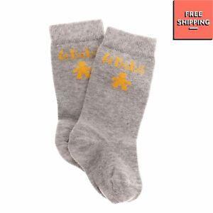 LE BEBE Baby Ankle Socks Size 12M Melange Effect Intarsia Logo