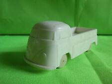 VINYL GUMMI PLASTIC  VW BUS  1:43?  -   EXTREMELY  RARE  IN GOOD CONDITION