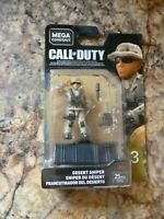 New DESERT SNIPER Mega Construx Call Of Duty Series 3 COD Game Mini Figure