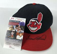 Frank Robinson Signed Baseball Hat Auto Autograph Cleveland Indians JSA COA