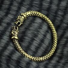 Vikings GOLD ARM RING Wolf Replica Bracelet Show Allegiance to RAGNAR LOTHBROK!!