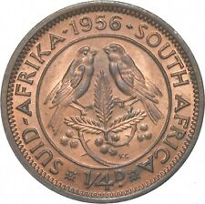 Better - 1956 South Africa 1/4 Penny - TC *262