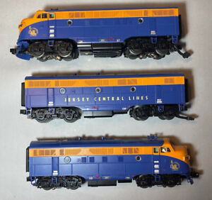 MTH 30-20460-1 Jersey Central F3 ABA Diesel Set. 55 57. Our U86