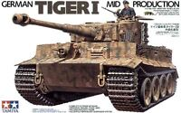Tamiya 35194 1/35 Scale Model Kit WWII German Heavy Tank Tiger I Mid Production