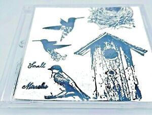 Birds House Nest Clear Cling Stamps Sparrow Hummingbird Bird House