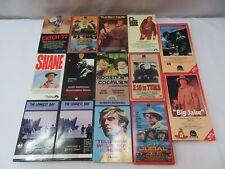 Westerns Lot of 14 Betamax Movies Vintage Beta Tapes