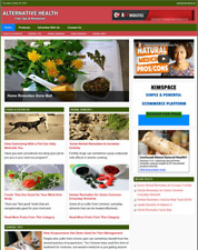 Alternative Health Remedies Tips Website Business For Sale Work From Home