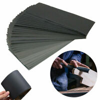 42 Pcs Wet and Dry Waterproof Sandpaper 120-3000 Grit Mixed Sander Paper Sheets