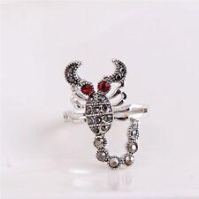 Fashion Metal Scorpion Ring Finger Ring Women Vintage Tone