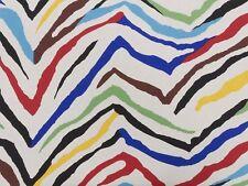 Tessuto Arredamento Tela Olona Zebrato mt. 0.50 x 1.40 - Sailcloth Fabric