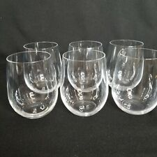 Set of 6 RIEDEL Stemless White Wine Glasses Mint Condition More Available