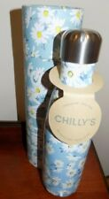 CHILLY'S VACUUM INSULTED  FLASK  BOTTLE FLORAL EDITION  DAISY     500ML