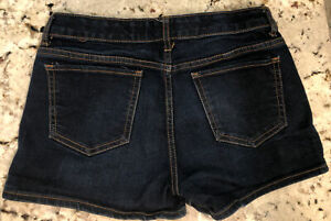 🌸NWOT! Girls GAP Dark Denim Shorts Sz14🌸