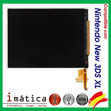 PANTALLA LCD PARA NINTENDO NEW 3DS XL INFERIOR FLEX IMAGEN ABAJO N3DS DISPLAY