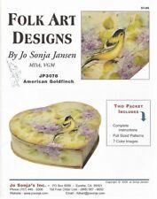 AMERICAN GOLDFINCH Pattern Packet by JO SONJA