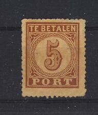 Portzegel NVPH p1 ongebruikt, CW 100,00.