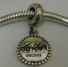 Roma encanto plata esterlina 925 Pulsera de Abalorios Souvenir Recuerdo Regalo De Italia