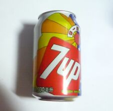 7UP Soda can CHINA 330ml 2017 Retro Vintage Design 1960's CN Pepsi 7 Up
