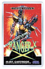 RANGER X MEGA DRIVE FRIDGE MAGNET IMAN NEVERA