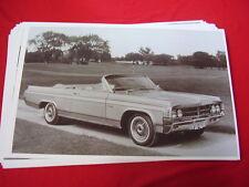 1963 OLDSMOBILE STARFIRE CONVERTIBLE  11 X 17  PHOTO   PICTURE