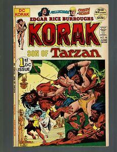 KORAK SON OF TARZAN 46 VF 8.0 JACK CLAYTON 1st DC COMICS APPEARANCE JOE KUBERT