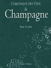 Chronique des vins de Champagne par Eric Glatre - sous blister - 9782912756510