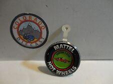 Hot Wheels Custom T-Bird Metal Button Hong Kong Free Shipping USA