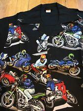 Racing Motorcycles Mens Vintage Style Shirt