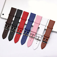 Unisex Genuine Leather Strap Band For Apple Watch 12/14/16/18/20/22/24mm
