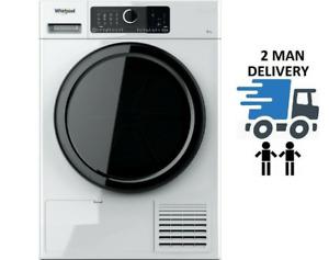 Whirlpool STU93E 9kg A+++ White Heat Pump Tumble Dryer + 2 Year Warranty (New)