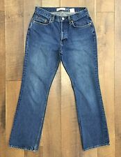 Vtg 90s GAP Boot Cut Jeans Button Fly 100% Cotton Denim Made In USA Womens 10 R