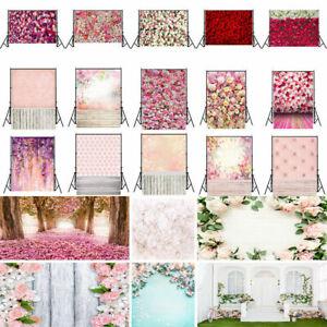 Flower Floral Floor Photography Backdrop Photo Studio Background Prop 3x5/5x7ft