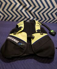Oceanic Scuba Diving Buoyancy Compensator Vest Size: Small