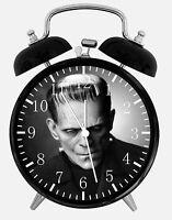 """Frankenstein Alarm Desk Clock 3.75"""" Home or Office Decor E20 Nice For Gift"""