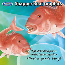 Snapper Graphics - set of 250mm Boat Graphics