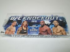 2018 TOPPS UFC KNOCKOUT SEALED HOBBY BOX!