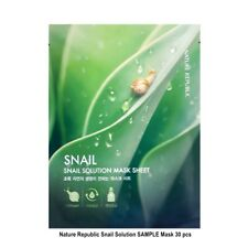 Nature Republic Snail Solution SAMPLE Mask Sheets 30 pcs