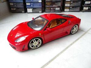 Ferrari F430 Red 1/18 Hotwheels Mattel Miniature
