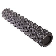 "Rumbleroller Black X-Firm Rumble Roller 31"" x 6"" Large Foam Roller! Free Ship!"