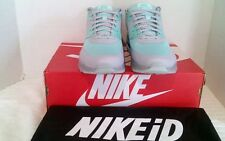 Nike Air Max 90 Hyperfuse Premium iD Pale Mint Green & Grey Men's Sz-9