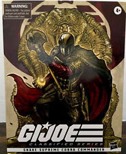 "GI Joe Classified Series 6"" Snake Supreme Cobra Commander Exclusive IN HAND"