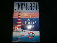 """A Salty Piece of Land""-Jimmy Buffett (New Hardcover 1st Ed  2004)      No CD"