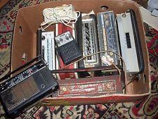 Dachbodenfund 7 Radio Kofferradio + Netzteil Stromumwandler 50iger Jahre