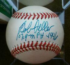 BOB FELLER Autographed Rawlings Official AL Baseball
