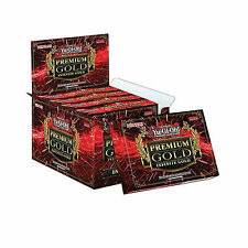 5X YUGIOH PREMIUM GOLD PACK 3 INFINITE 2016 BOOSTER PACK / BOX 15 CARDS - PRIZE